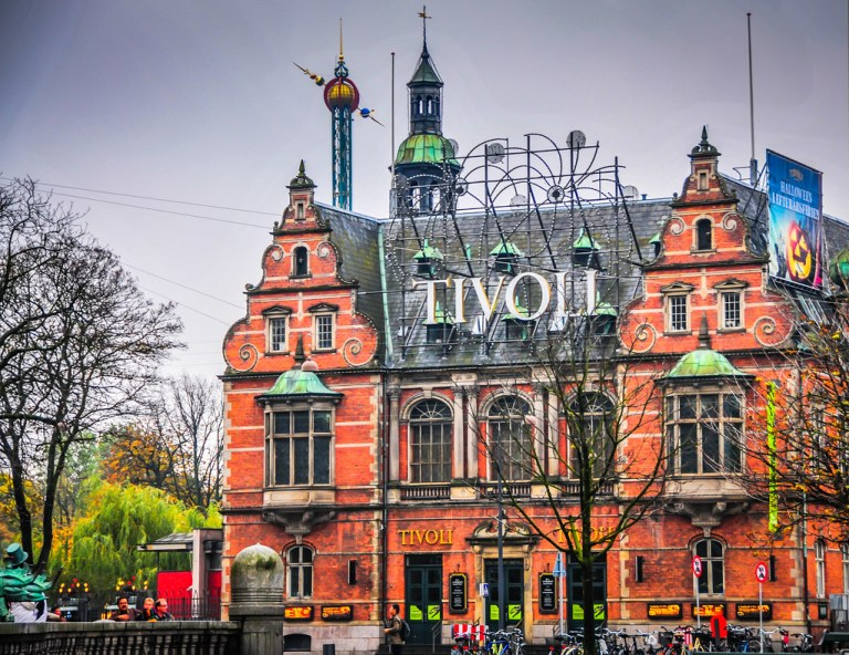 Tivoli Park - Copenhagen Denmark